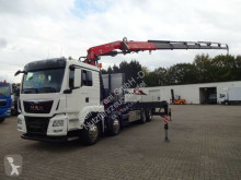 Camion plateau ridelles MAN 35.440 Pritsche FASSI 455/6xhydr/4-Punkt 8x4H*6