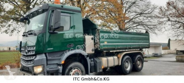Camión volquete trilateral Mercedes 2651 3351K 6x4 Kipper Blattgefedert