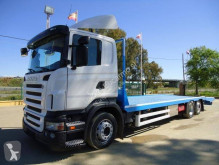 Scania heavy equipment transport truck R