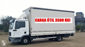MAN TGL 8.180 truck used tautliner