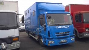 Camion van à chevaux Iveco Eurocargo 80 EL 18 tector