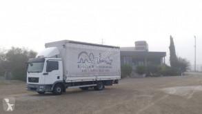 MAN tarp truck TGL 8.180