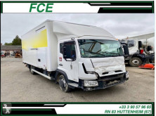 Renault truck damaged box