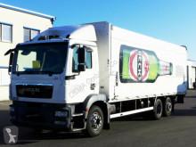 Camión caja abierta transporte de bebidas MAN TGM 22.250*Euro 5EEV*BÄR 2.5T*Lift/Lenkachse*