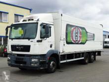 MAN beverage delivery flatbed truck TGM 22.250*Euro 5EEV*BÄR 2.5T*Lift/Lenkachse*