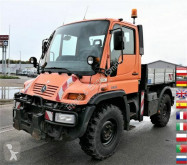 Unimog U300 KLIMA AHK KOMUNALHYDRAULIK truck used three-way side tipper