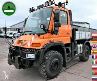 Грузовик Unimog U400 405/12 AHK KLIMA SFZ платформа бортовой б/у