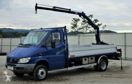 Camion Mercedes SPRINTER 416 CDI 3,80m+Kran*Topzustand*! plateau occasion