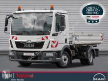 MAN three-way side tipper truck TGL 8.190 4X2 BB, 3-Seitenkipper Meiller, LGS