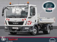 MAN TGL 8.190 4X2 BB, Meiller Dreiseitenkipper truck used three-way side tipper