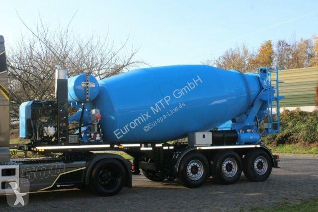 Voir les photos Semi remorque Euromix EUROMIX MTP 12m³ Mischauflieger