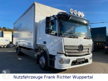 Camión Mercedes 1527 Atego, Schlafkabine,LBW,HU08/21,erst 124TKM lona usado