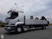 Camion plateau ridelles Renault Premium 400.19