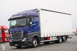 Camion MERCEDES-BENZ ACTROS 2542 / ACC / 80 TYS. KM / E 6 / FIRANKA obloane laterale suple culisante (plsc) second-hand