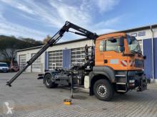 MAN TGA 18.350 4x4 Abrollkipper + Kran *Winterdienst truck used tipper