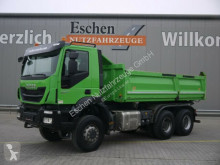 Iveco three-way side tipper truck AD260T41W 6x6 Meiller 3SKipper Bordmatik Manuell
