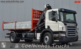 Scania P 230 truck used tipper