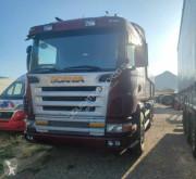Camión volquete Scania G 124 470 6x4 Dumper truck (Mercedes-Benz-Iveco)