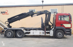 Camion MAN CAMION GANCHO MAN 430 6x2 PALFINGER PK 23002 polybenne occasion