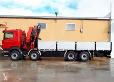 Грузовик Scania 340 8X2 HIAB 477 + JIB платформа б/у
