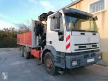 Camión caja abierta Iveco 310 6x4 HIAB 280 AÑO 2002