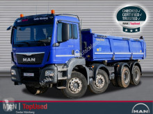 MAN TGS 35.460 8X4 BB Meiller 3S Kipper D421 Bordmatic truck used three-way side tipper