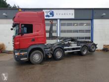 Camión Scania R 420 Gancho portacontenedor usado