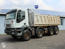 Camión volquete trilateral Iveco AD340T440 Trakker 8x4 Meiller 1. Hand