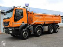 Camión volquete volquete trilateral Iveco TRAKKER 8x4 AD340T41 Bordmatik EUR6
