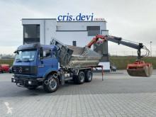 Camión caja abierta Mercedes 2538 6x4 !! 185.000 KM !! Palfinger 10500 Kran