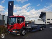 Camion Scania P94D 260 6x2 Forstmaschinen Transporter