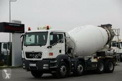 Camião MAN TGS 32.400/CEMENTMIXER 9M3 /LIEBHERR/ MANUAL/EEV betão betoneira / Misturador usado