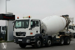 Camion MAN TGS 32.400/CEMENTMIXER 9M3 /LIEBHERR/ MANUAL/EEV betoniera cu rotor/ Malaxor second-hand
