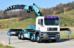 Ciężarówka MAN TGA 35.430 6,10 m+KRAN/FUNK*8x2! platforma używana