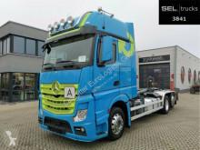 Camión multivolquete Mercedes Actros 2551/Meiller-Kipper/Lenkachse/