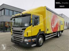 Camion plateau brasseur Scania P 320 DB6x2*4MLB / Ladebordwand / Lenkachse