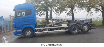 Camion Scania R R 480 Abrollkipper multiplu second-hand