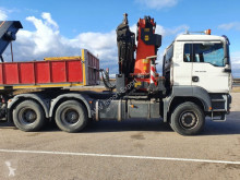Camión volquete MAN CABEZA TRACTORA MAN 430 6x4 PALFINGER PK 56002 G