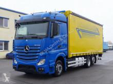 Camião Mercedes Actros 2545 *EU 6*Retarder*Edscha*BÄR 1.5T*TÜV* caixa aberta com lona usado