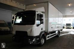 Camión furgón Renault D16 closed box truck with Lift-Gate