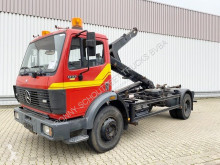 Camião Mercedes 1722 4x2 4x2 Abroller Atlas ARK 122 Knickhaken, Ex-Feuerwehr poli-basculante usado