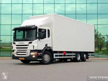 Camión furgón Scania P280 EURO 5 6X2*4 GESTUURDE NALOOPAS VOL ADR 4.000 KG LAADKLEP T
