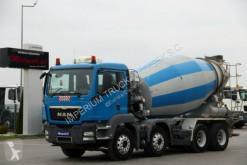 Kamión MAN TGS 32.400/CEMENTMIXER 9M3 /LIEBHERR/ MANUAL/EEV betonárske zariadenie domiešavač ojazdený