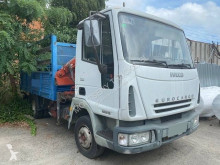 Iveco Eurocargo truck used standard flatbed