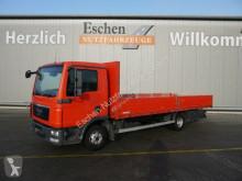 Camión MAN TGL 8.180 4x2BL Pritsche, 3 Sitze, AHK, Schalter caja abierta teleros usado