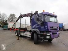 Kamión súprava na odvoz dreva Iveco Trakker AT380T45 6x4 EEV Kran Epsilon+Greifer