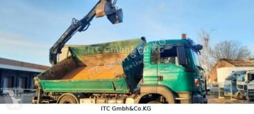 Camión MAN TGS TG-S18.320 BL 4x2 Kipper mit Kran +Funk/Greifer volquete usado