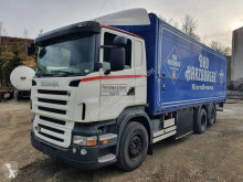 Camion cu prelata si obloane Scania R 420 LB