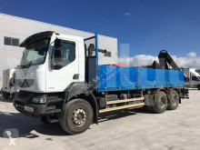 Camion Renault Kerax 380.26 plateau standard occasion