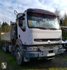 Camion Renault Kerax 370 DCI plateau ridelles occasion